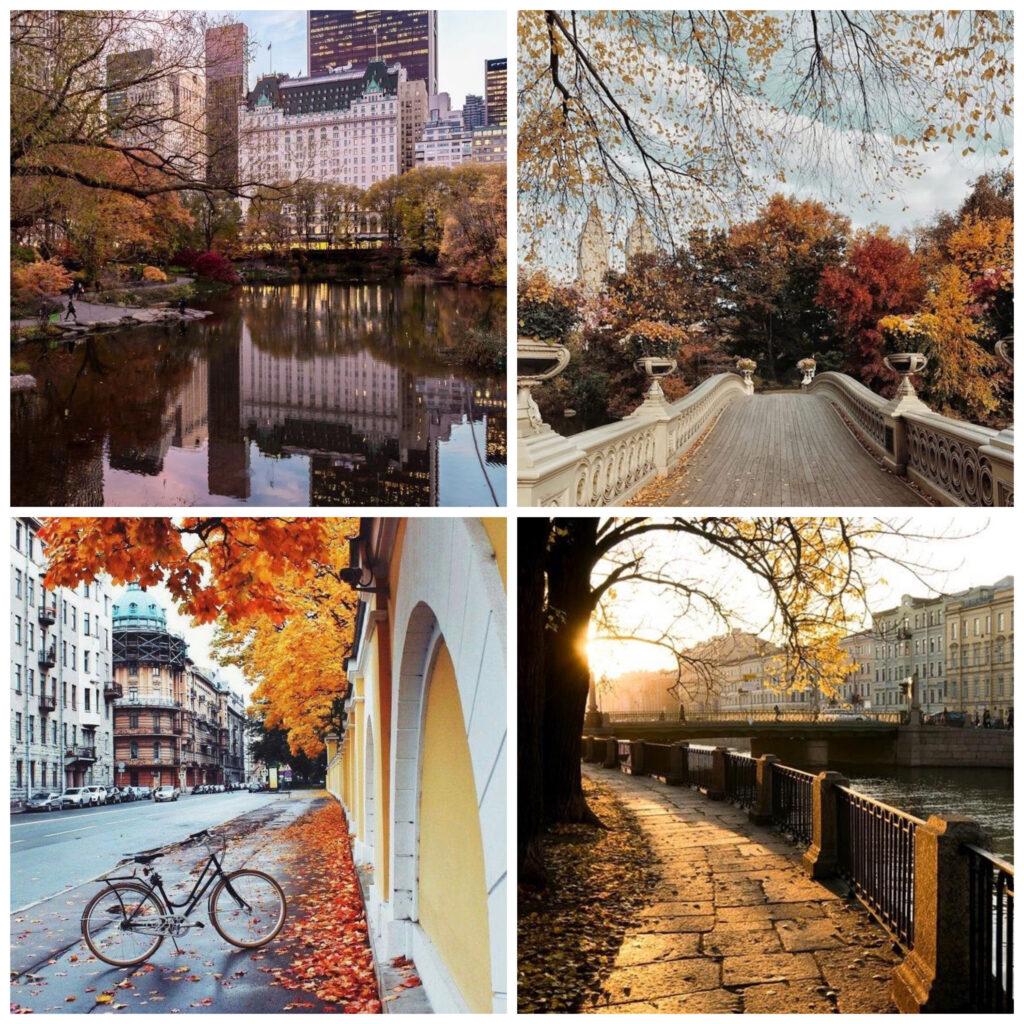 20 свежих идей для красивых постов в Инстаграме про осень